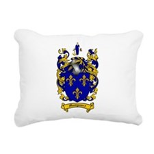 Montgomery Family Crest Rectangular Canvas Pillow