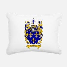 Montgomery Family Crest Rectangular Canvas Pillow