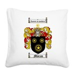 Moran Family Crest Square Canvas Pillow