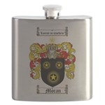 Moran Family Crest Flask