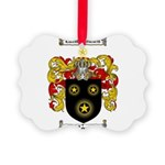 Moran Family Crest Picture Ornament