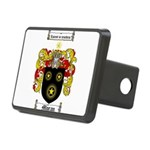 Moran Family Crest Rectangular Hitch Cover