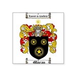 Moran Family Crest Square Sticker 3