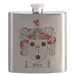 Morse Family Crest Flask