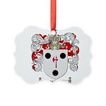 Morse Family Crest Picture Ornament