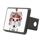 Morse Family Crest Rectangular Hitch Cover