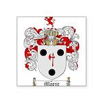 Morse Family Crest Square Sticker 3