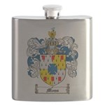 Moss Family Crest Flask