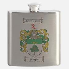 Murphy Family Crest Flask