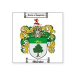 Murphy Family Crest Square Sticker 3