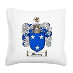 Murray Family Crest Square Canvas Pillow