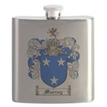 Murray Family Crest Flask