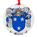 Murray Family Crest Round Ornament