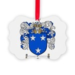 Murray Family Crest Picture Ornament