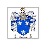 Murray Family Crest Square Sticker 3