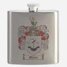 Myers Family Crest Flask