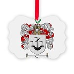 Myers Family Crest Picture Ornament