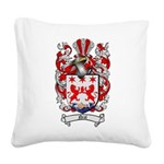 Neal Family Crest Square Canvas Pillow