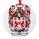 Neal Family Crest Round Ornament