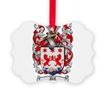 Neal Family Crest Picture Ornament