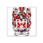 Neal Family Crest Square Sticker 3