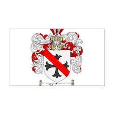 Nelson Family Crest Rectangle Car Magnet