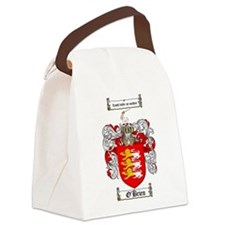 O'Brien Family Crest Canvas Lunch Bag