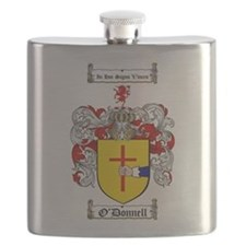 O'Donnell Family Crest Flask