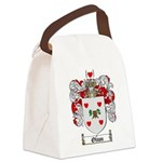Olson Family Crest Canvas Lunch Bag