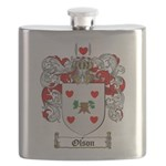 Olson Family Crest Flask