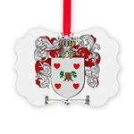 Olson Family Crest Picture Ornament