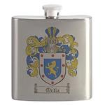 Ortiz Family Crest Flask