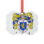 Ortiz Family Crest Picture Ornament
