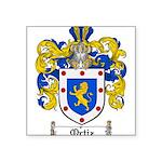 Ortiz Family Crest Square Sticker 3