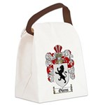 Owens Family Crest Canvas Lunch Bag