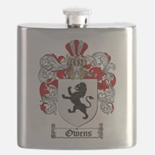 Owens Family Crest Flask