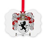 Owens Family Crest Picture Ornament