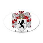 Owens Family Crest Oval Car Magnet