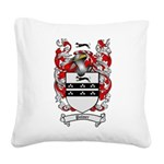 Palmer Family Crest Square Canvas Pillow