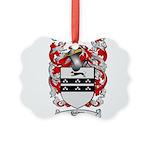 Palmer Family Crest Picture Ornament