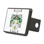 Patterson Family Crest Rectangular Hitch Cover