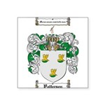 Patterson Family Crest Square Sticker 3