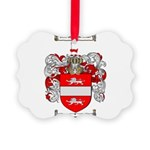 Payne Family Crest Picture Ornament