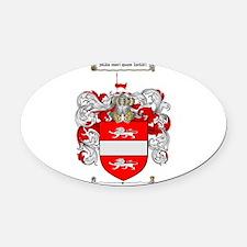 Payne Family Crest Oval Car Magnet