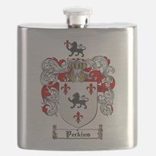Perkins Family Crest Flask