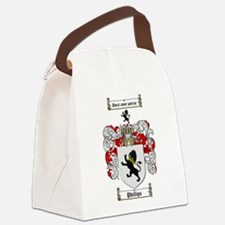 Phillips Family Crest Canvas Lunch Bag