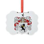 Phillips Family Crest Picture Ornament