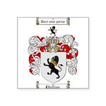 Phillips Family Crest Square Sticker 3