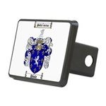Poole Family Crest Rectangular Hitch Cover