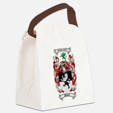 Powell Family Crest Canvas Lunch Bag